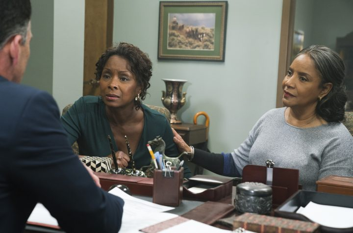 A Fall From Grace - Crystal Fox, Phylicia Rashad - Photo Credit: Netflix / Charles Bergmann